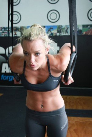 Fit girl workout