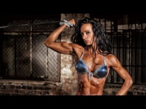 Andrea Lackner Fitness Model Photoshooting Video Part 2