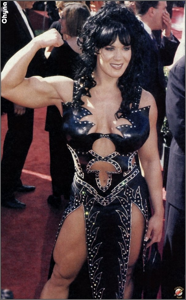 Joanie Laurer Aka Chyna  Beauty Muscle-4268