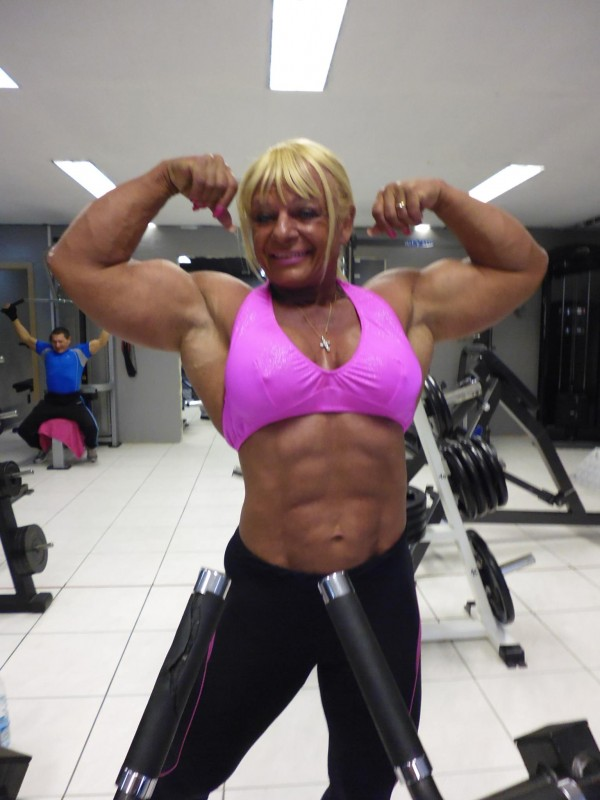 maryse manios part muscular women
