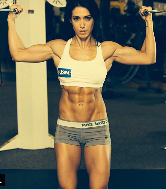 Bella Falconi no programa Amaury Jr