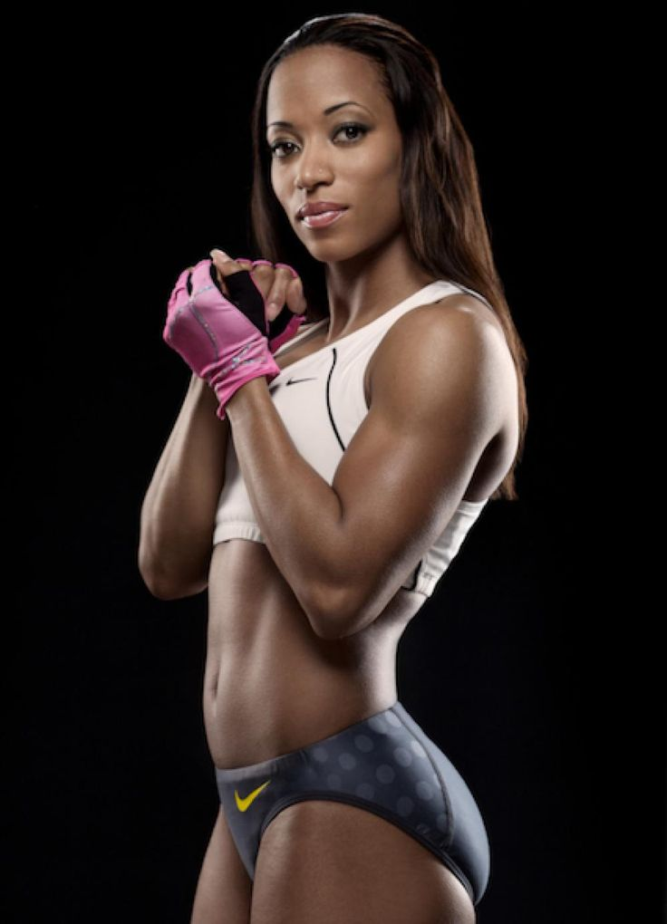 sexy black female athletes