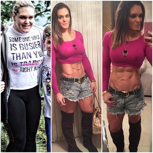 female muscle steroids transformation
