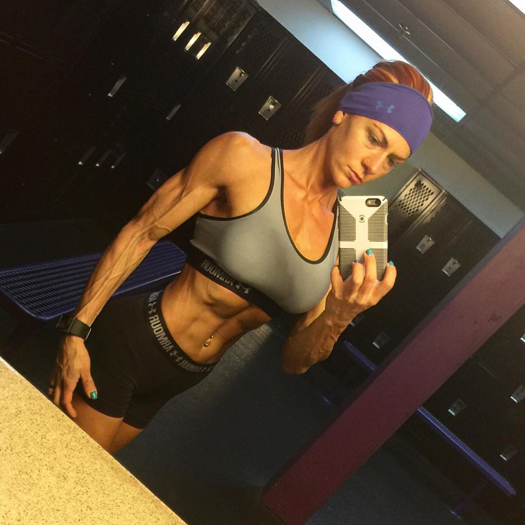 Something is. Allison moyer muscle babe necessary