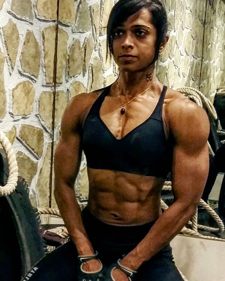 First Indian Pro Figure Athlete In Arnold Classic Bodybuilding