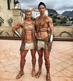 Brooke Ence & Angharad James
