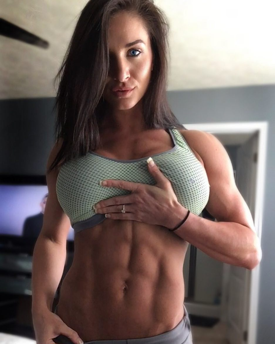 With tits and girls hot abs big